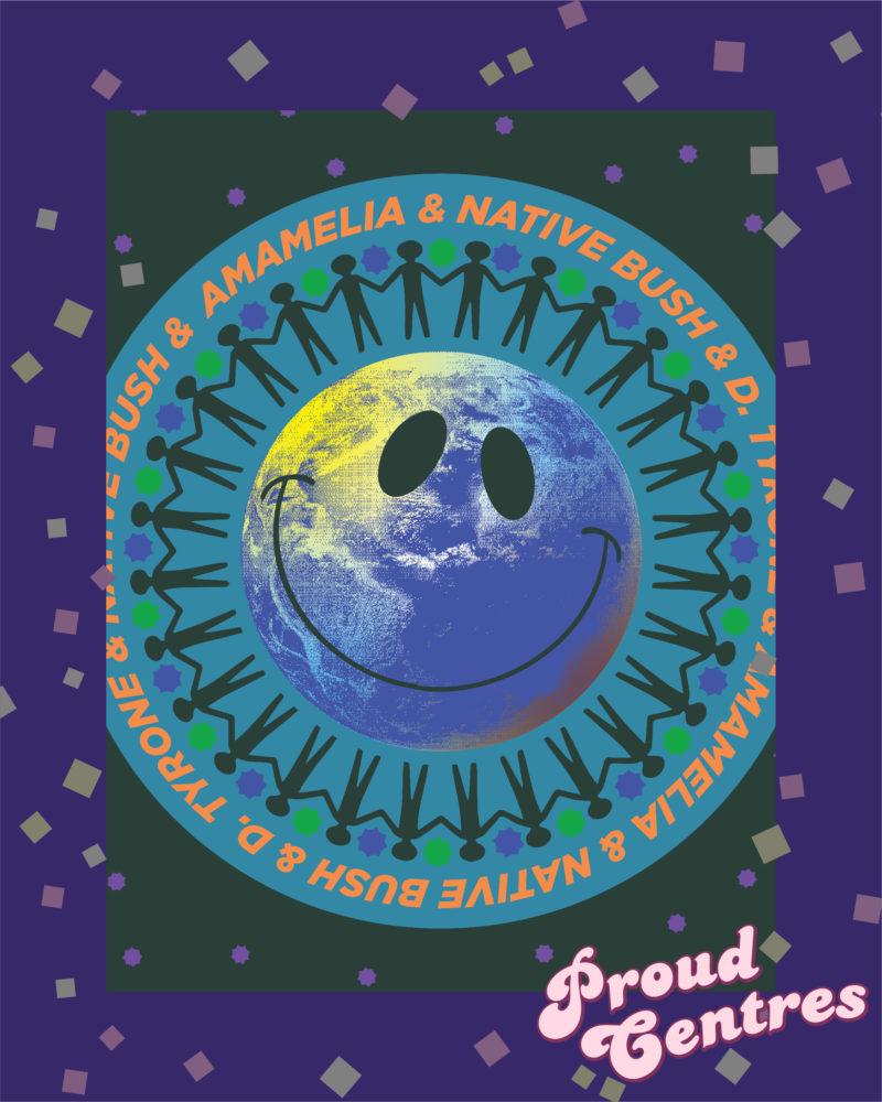 Amamelia, Native Bush & D. Tyrone – DJs on the square